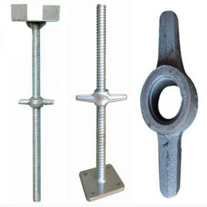 scaffold base jack screw jack