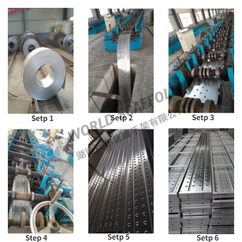 scaffolding plank manufacturing process ending